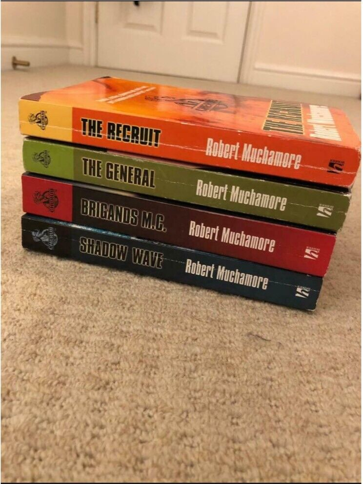 Cherub series books (The recruit, The general, Shadow Wave, Brigands M C )  | in Leicester, Leicestershire | Gumtree