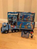 Playmobil, Containertruck 4447 Niedersachsen - Uelsen Vorschau