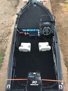 4.9 meter boat with 90hp Woodroffe Palmerston Area Preview