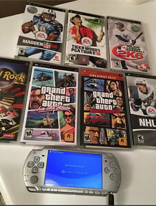 Sony PSP Lot with 7 games