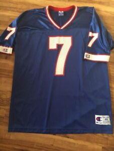 MINT Doug Flutie Buffalo Bills football jersey Champion XL