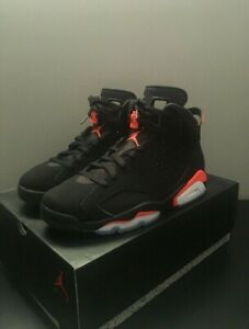 newest a62fc f2ed2 DS Air Jordan 6 Black Infrared 2019 Size 8