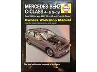 Mercedes-Benz C-Class Haynes Manual