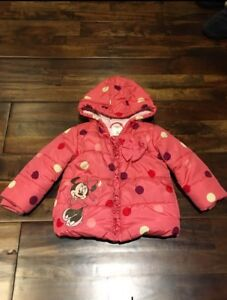 Minnie Mouse Winter Jacket - 18-24 months