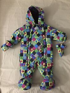 Baby Puffer Snow Suit