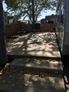 Deck, Shed & Fence for Sale Dickson Leisure Ground