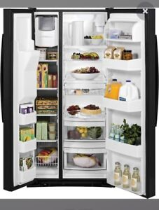 Almost New Black Fridge for Sale