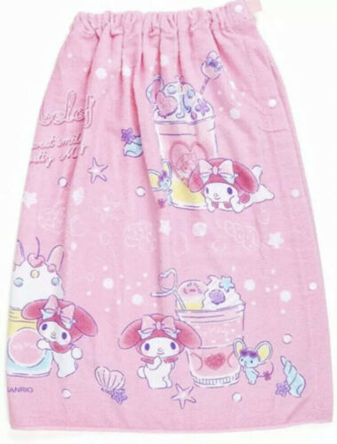 My Melody Sanrio Wrap Towel Shell 70cm For Kids Limited Japan 361 - $40.00