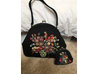 Lulu Guinness Handbag and Purse