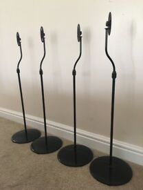 Floor standing speaker stands for Bose etc