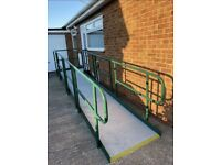 Access Ramp / Mobility Ramp 18ft