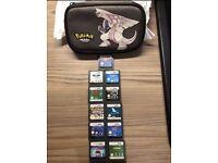 Nintendo DS bundle, Pokemon platinum, Pokemon pearl case