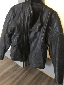 Men's Magnum Leather Motorcycle Jacket
