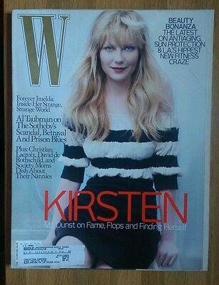 W Magazine April 2007 Kirsten Dunst Christian Lacroix