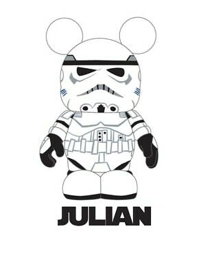 ******STAR WARS PERSONALIZED STORM TROOPER ***FABRIC/T-SHIRT IRON ON TRANSFER (Personalized Star Wars)