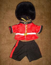 Build a Bear Queen's Guard & Policeman Outfit.