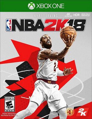 NBA 2K18 Xbox One [Factory Refurbished]