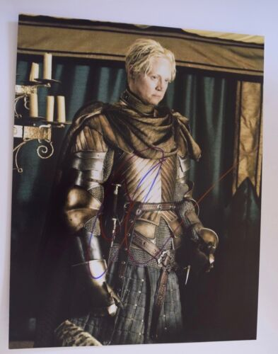 Gwendoline Christie Signed Autographed 11x14 Photo Game of Thrones COA VD