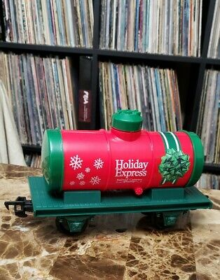 """North Pole Express Christmas Train Set EZTEC 37297 """"Oil Tank Car"""" Only - Tested"""