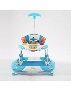 Deluxe baby walker 3 in 1 rock swing walker lights much and toys Punchbowl Canterbury Area Preview