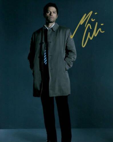 Misha Collins Supernatural Autographed Signed 8x10 Photo COA 2020-3
