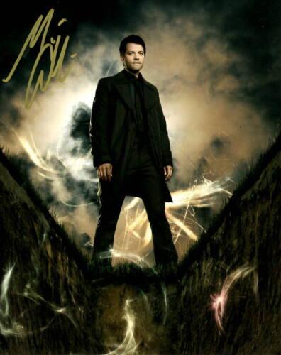 Misha Collins Supernatural Autographed Signed 8x10 Photo COA 2020-2