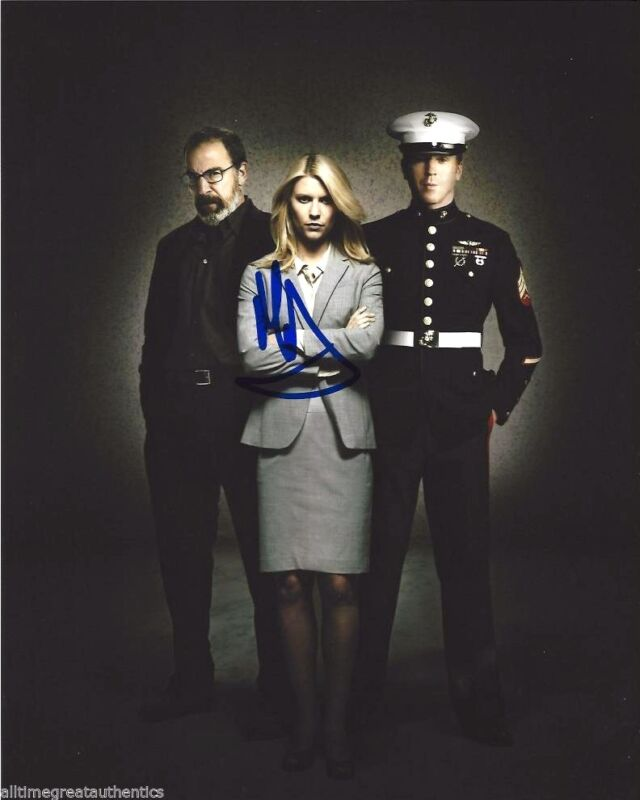 ACTOR MANDY PATINKIN SIGNED HOMELAND 8X10 PHOTO W/COA SAUL BERENSON E