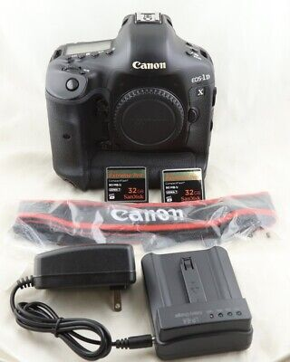 Free shipping! Canon EOS 1D X 18.1MP Digital SLR Camera EOS 1DX with extras