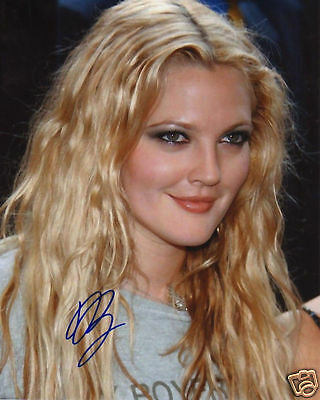DREW BARRYMORE AUTOGRAPH SIGNED PP PHOTO POSTER 2