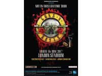 Guns N Roses Tickets with coach travel