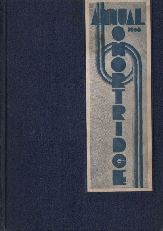 High School Yearbook Indianapolis Indiana IN Shortridge High School Annual 1936