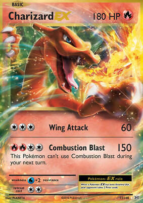 Charizard EX 12/108 XY Evolutions HOLO Pokemon Card NEAR MINT
