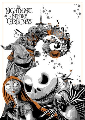 1993 The Nightmare Before Christmas Print > Jack Skellington > Sally 🎃🎅💀🎅🎃