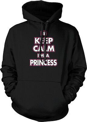 Keep Calm I'm a Princess - Crown Spoiled  Hoodie Pullover - A Princess Crown