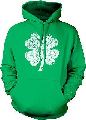 - Shamrock Clover Irish Lucky St Patricks Day Ireland Hoodie Pullover Sweatshirt