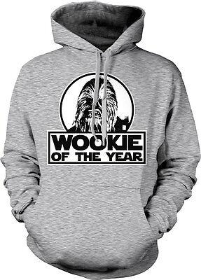 tar Wars Chewbacca Funny Humor Hoodie Pullover Sweatshirt (Wookie Hoodie)