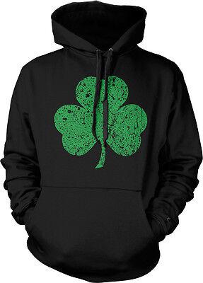 - Irish Shamrock Clover Lucky Charm St Patricks Day Hoodie Pullover Sweatshirt