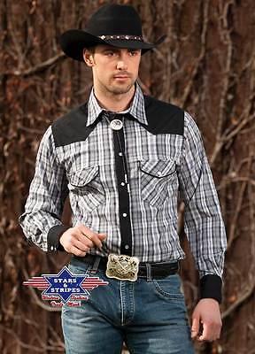 Stars & Stripes Herren Westernhemd Brian Westernmode Westernwear-Shop.com online kaufen