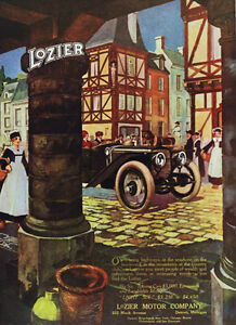 3787-Lozier-Motor-Vintage-Car-Ad-Poster-Art-Decorative-Home-interior-design