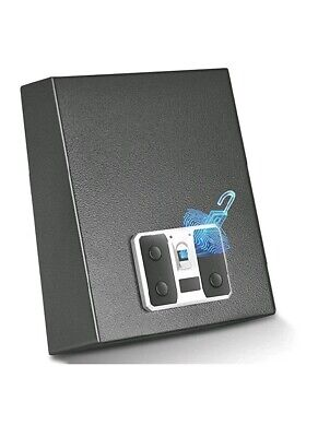 YUEMA Biometric Gun Safe, Quick Access Handgun Safes with Fingerprint