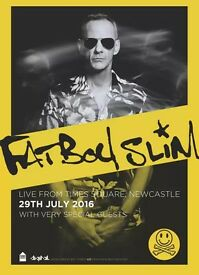 FATBOY SLIM 29TH JULY NEWCASTLE