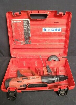 Hilti Dx 460 Powder Actuated Fastening Tool - Concrete Nailer In Case Automatic