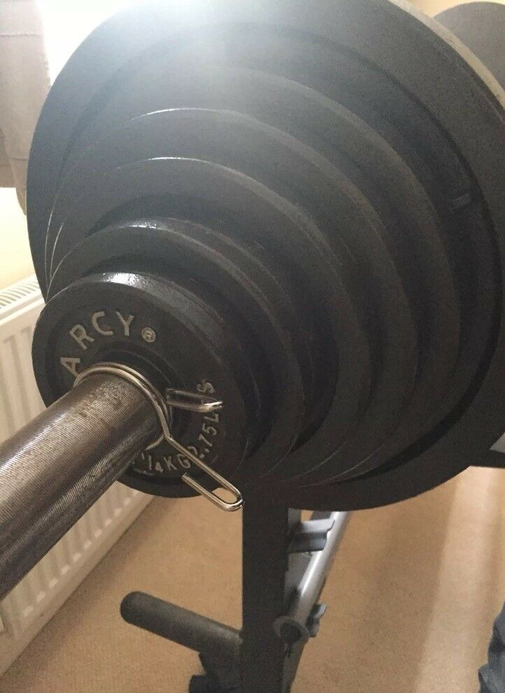 Marcy Olympic Barbell Weights And Bench