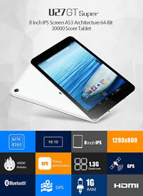 NEW Original Cube 8 inch Android 5.1 Tablet PC MTK8163 Quad Core 1GB RAM 8GB ROM 1280x800 HDMI