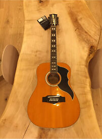 Eko Ranger XII VR natural stain acoustic guitar 12 string NEW