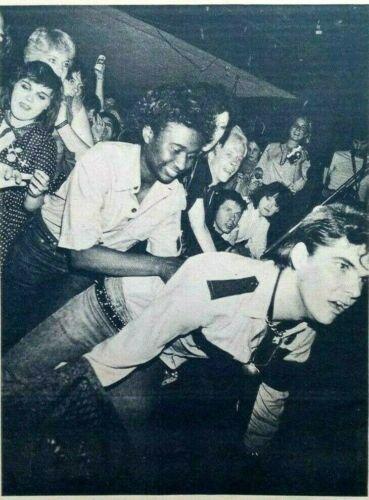 THE GERMS, RARE 1979 DARBY CRASH NEWSPRINT PHOTO 7x9 inches, LA KBD PUNK