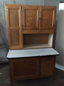 MUST GO - Antique Hutch - LOWER PRICE