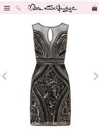 Miss Selfridge premium bodycon dress size 12