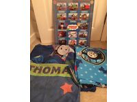 Thomas the tank Engine bundle, bedding, curtains & framed poster