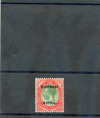 South West Africa Sc 40B Sg 40   Vf Nh Dutch Overprint  375